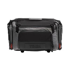 Tenba 632-622 Shootout Large Shoulder Bag (Silver/Black)