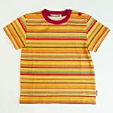 Lana Naturalwear オーガニックコットン 100% キッズベビー Tシャツ ニルス ストライプ /サイズ128(130)cm