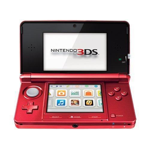 Click To Nintendo 3DS - Flame Red Details