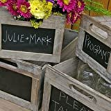 Blackboard Produce Crate, Various Sizes, Set of 4