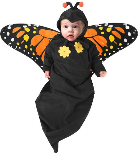 Newborn Baby Butterfly Halloween Costume (3-6M) image