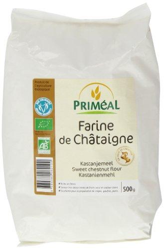 Primeal Organic Chestnut Flour 500 g (Pack of 2)