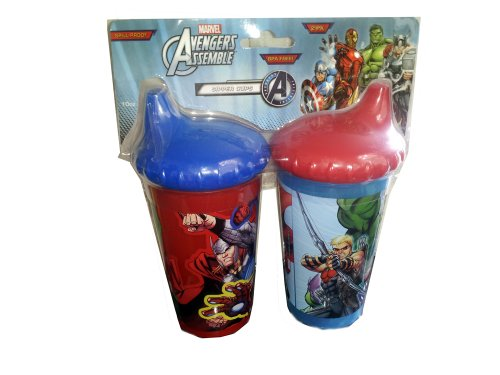 Marvel Avengers Assemble Spillproof Sipper Cups - 2Pk