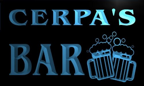 w055023-b-cerpas-name-home-bar-pub-beer-mugs-cheers-neon-light-sign