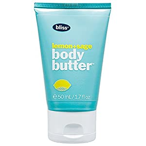 Bliss Lemon+Sage Body Butter Maximum Moisture Cream 1.7