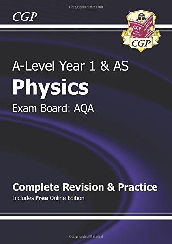 New 2015 A-Level Physics: AQA Year 1 & AS Complete Revision & Practice with Online Edition
