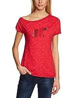 C.P.M. Camiseta Manga Corta 3S77056 (Rojo)
