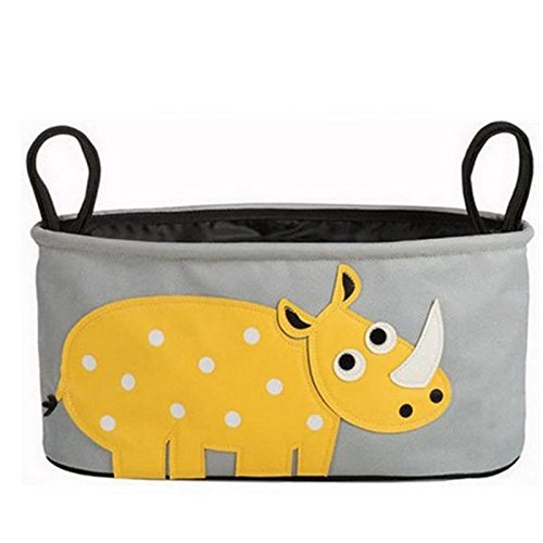 Lovely Baby Diaper Bags Animal Stroller Accessories Storage Bottle Diapers Organizer Bag Handbag Travel Bag-2