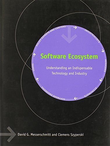 Software Ecosystem: Understanding an Indispensable Technology and Industry (MIT Press) (Software Ecosystem compare prices)