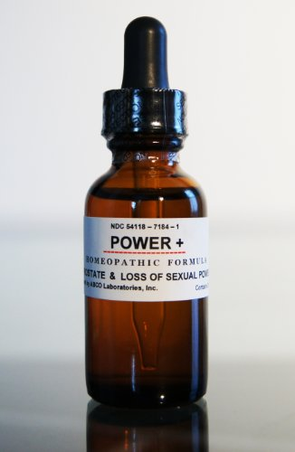 POWER+ The #1 Natural Homeopathic Remedy for Erectile Dysfunction, Impotence, Prostate problems (2x30ml)