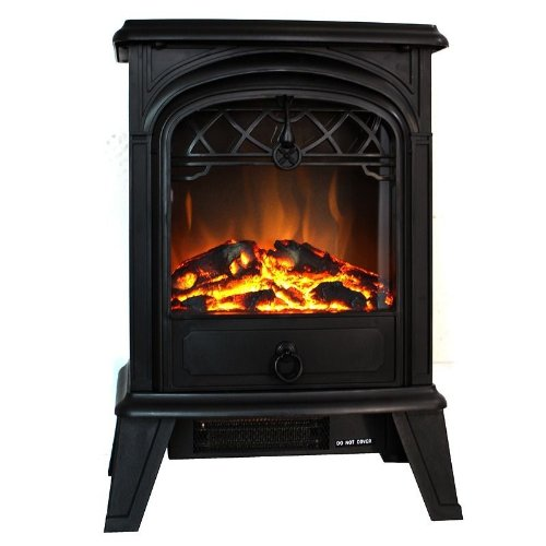 NEW Home Adjustable Setting 750 Watt & 1500 Watt Electric Fireplace Heater Flame picture B00GZCQ45W.jpg