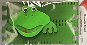 New Green Frog Growth Chart Keeps Track of Children's Height