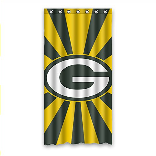 DONGMEN Custom Green Bay Packers Waterproof Shower Curtain Polyester 36 ·  Football