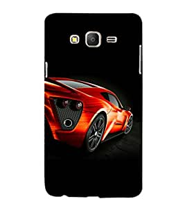 printtech Superfast Car Back Case Cover for Samsung Galaxy On5
