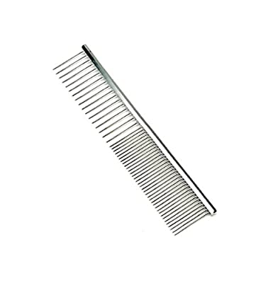 Safari Grooming Comb for Dogs, Stainless Steel