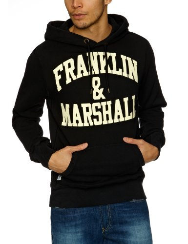 Franklin & Marshall FLMC028S13 Men's Sweatshirt Black Medium