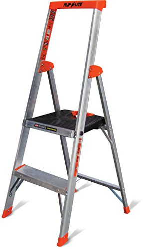 Flip-N-Lite-300-Pound-Duty-Rating-Platform-Stepladder