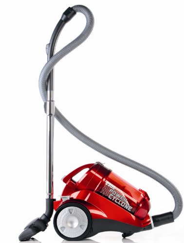Dirt Devil M2838-1 Power Cyclone, 2300 Watt inklusive Parkettbürste, rot