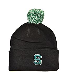 Amazon.com : Michigan State Spartans Black Cuff Beanie Hat