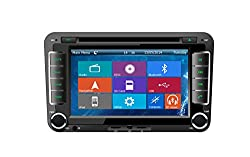 See Crusade Car DVD Player for Skoda Octavia Ii 2005-2010 Support 3g,1080p,iphone 6s/5s,external Mic,usb/sd/gps/fm/am Radio 7 Inch Hd Touch Screen Stereo Navigation System+ Reverse Car Rear Camara + Free Map Details