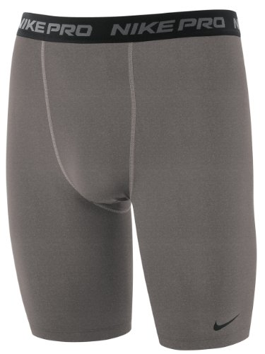 NIKE Pro Core Compression Mens Base Layer Short (L, Grey)