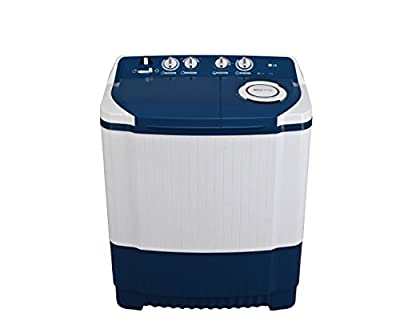 LG P8540R3F Semi-automatic Washing Machine (7.5 Kg, Dark Blue)
