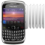 BLACKBERRY CURVE 3G 9300 SCREEN PROTECTOR 6-IN-1 PACK