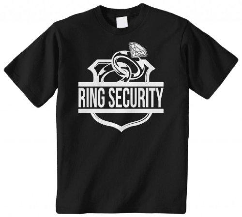 Threadrock 'Ring Security' (Ring Bearer) Youth T-Shirt M Black