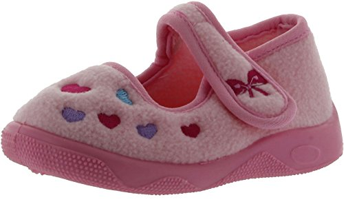 Ragg Lil' Hearts 2,Pink,6 M Us Toddler front-858847