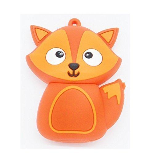 novelty-animal-fox-shaped-usb-flash-drive-16gb-red