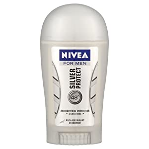 Nivea 40ml Male Silver Protect Stick