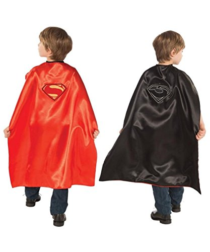 Superman Man of Steel Reversible Superman/general Zod Chil Cape