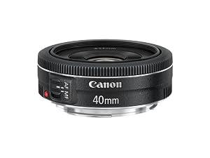 Canon 単焦点レンズ EF40mm F2.8 STM フルサイズ対応