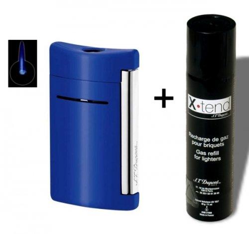 set-dupont-mechero-x-tend-de-mini-jet-azul-brillante-con-gas