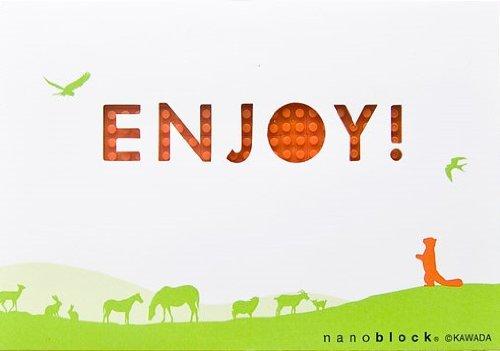 nanoblockポストカード (レッサーパンダ) Gift