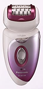 Panasonic ES-WD94-P Women's Electric 6-in-1 Epilator/Shaver