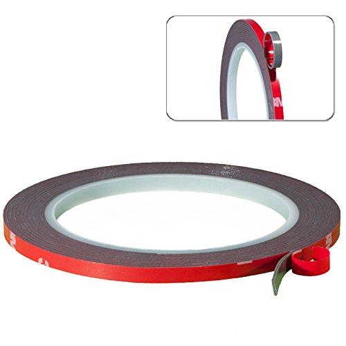 3M-Scotch-Acrylic-Plus-Doppelseitiges-Klebeband-Montageklebeband-Hochleistungsklebeband-Tape-5mm-3-Meter