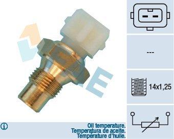FAE 33660 Sensor, Öltemperatur