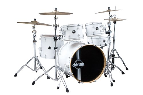 ddrum-reflex-5-piece-drum-shell-pack-with-alder-shell-white