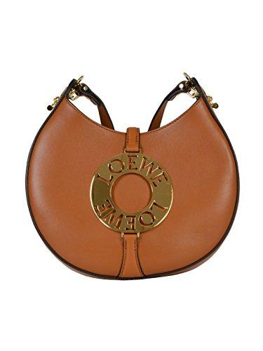loewe-womens-32607p122530-brown-leather-shoulder-bag
