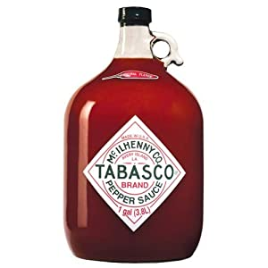 Tabasco Brand Pepper Sauce - Original Red Gallon