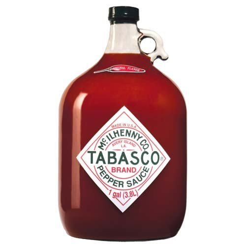 Tabasco Pepper Sauce, 128 Ounce (Gallon Red Hot Sauce compare prices)