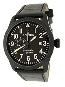 Le Chateau Men's 7081mgun_blk Dynamo Watch
