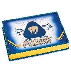 Pumas Edible Cake Image