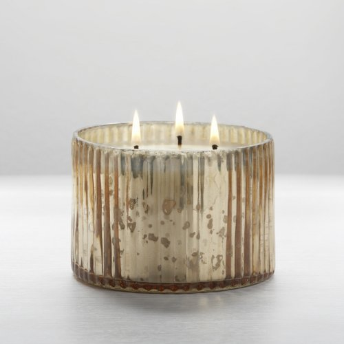 Illume Gilded Amberleaf 3-Wick Mercury Candle