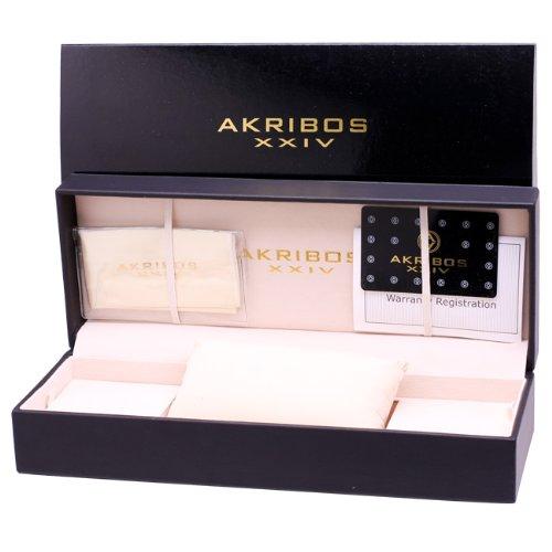 Đồng hồ nữ Akribos XXIV Womens AKR440YG2 Dazzling