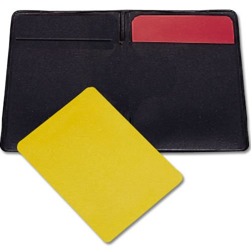 BSN Soccer Referee Warning Cards and Wallet (Red Card Soccer compare prices)