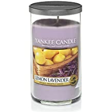 Yankee Candle Lemon Lavender Medium Perfect Pillar Candle, Fresh Scent By Yankee Candle