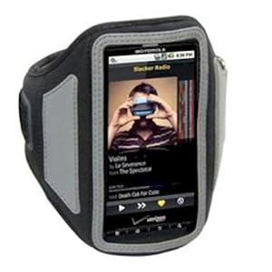 Scosche DABBK soundKASE Sport Case for Smartphones - 1 Pack - Retail Packaging - Black