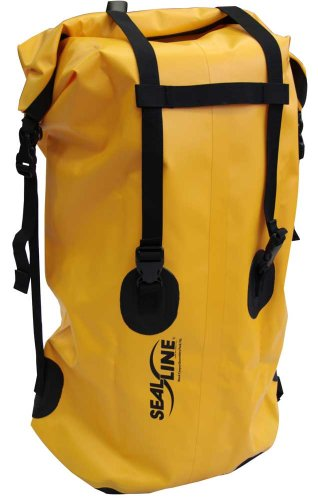 Seal Line Black Canyon Boundary 70-Litre Duffle Bag, Yellow